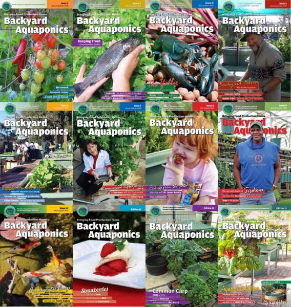 Backyard eMagazines - Editions 1 -13 - Downloadable product