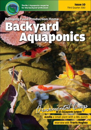 Backyard Aquaponics eMagazine Ed. 10 Cover