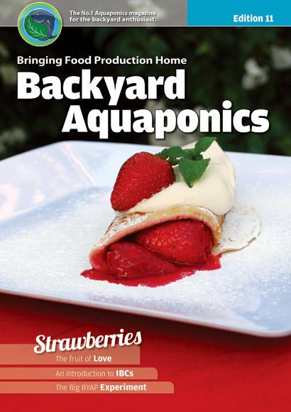 Backyard Aquaponics eMagazine Ed. 11 Cover