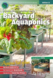 Backyard Aquaponics eMagazine Ed. 13 Cover