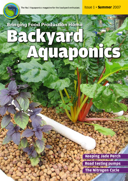 Backyard Aquaponics eMagazine Ed. 1 Cover