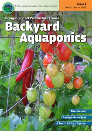 Backyard Aquaponics eMagazine Ed. 2 Cover