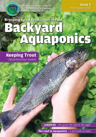 Backyard Aquaponics eMagazine Ed. 3 Cover