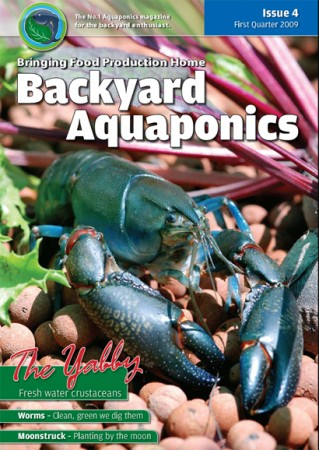 Backyard Aquaponics eMagazine Ed. 4 Cover