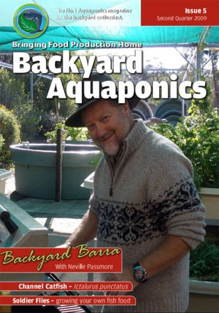 Backyard Aquaponics eMagazine Ed. 5 Cover