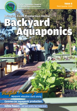 Backyard Aquaponics eMagazine Ed. 6 Cover