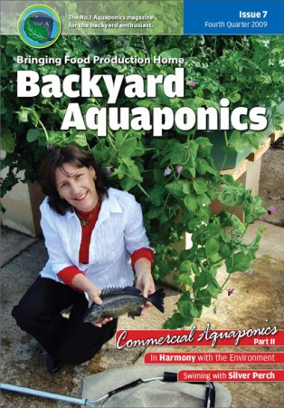 Backyard Aquaponics eMagazine Ed. 7 Cover