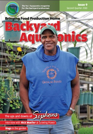 Backyard Aquaponics eMagazine Ed. 9 Cover